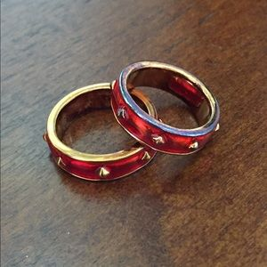 Vintage MONET Stackable Rings